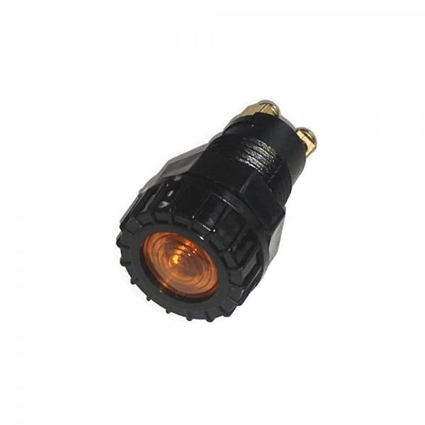 KFZ Signalleuchte 6V 12V 24V Orange Lampe Warnlampe Kontrollleuchte T4W Sockel