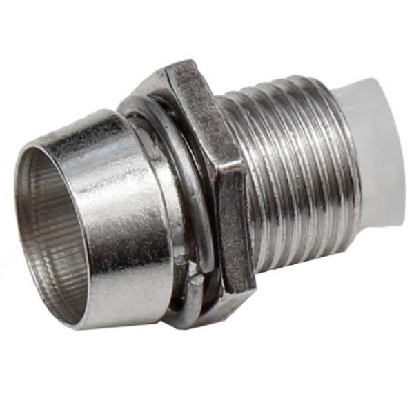 LED Fassung aus Metall für 5mm LEDs 50 Stück Halterung Montagefassung Leuchtdioden