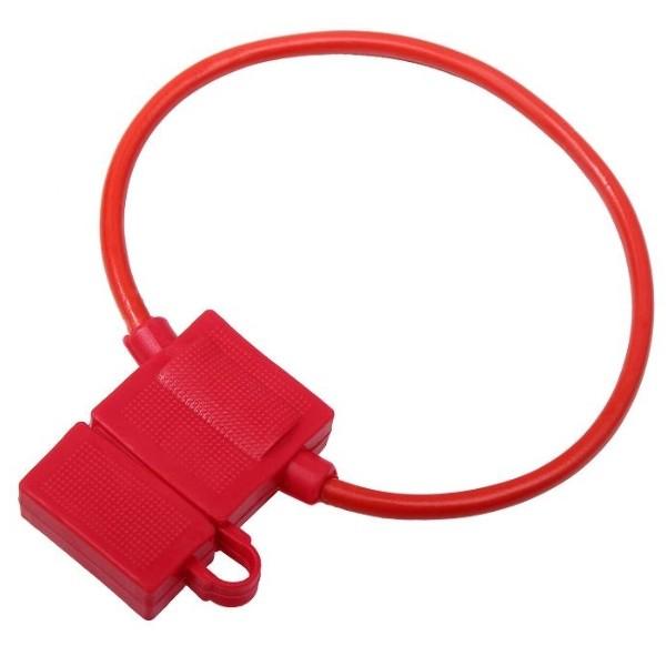 5 x Sicherungshalter Gummi für KFZ Flachsicherung Auto Sicherung