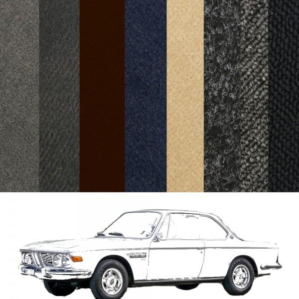 Autoteppich komplett BMW E9 Coupe verschiedene Farben Neu