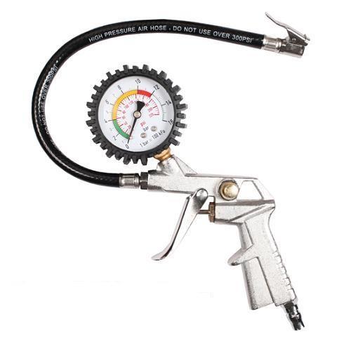 Reifenfüller bis 16 BAR Reifenprüfer Reifendruckprüfer Manometer Luftdruckprüfer