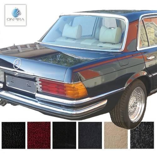 mercedes w116 sel auto teppich komplettes set velours. Black Bedroom Furniture Sets. Home Design Ideas