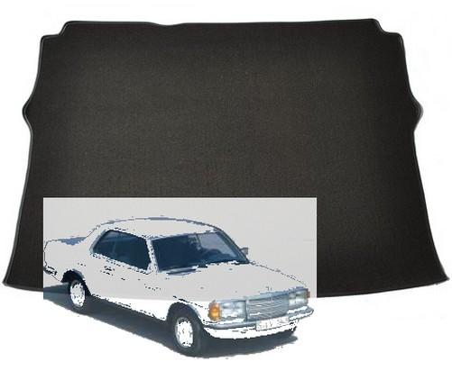 Mercedes C123 W123 Coupe Kofferraummatte Schlinge schwarz Keder Stoff