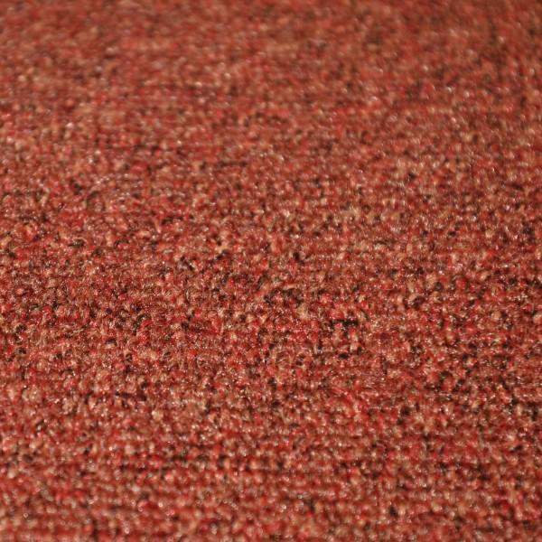 Autoteppich Meterware Schlinge rotbraun henna siena