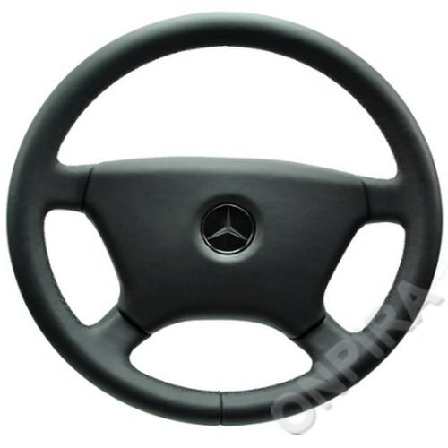 Mercedes SL-Klasse W107 Lenkrad und Prallplatte neu beziehen mit Automobilleder