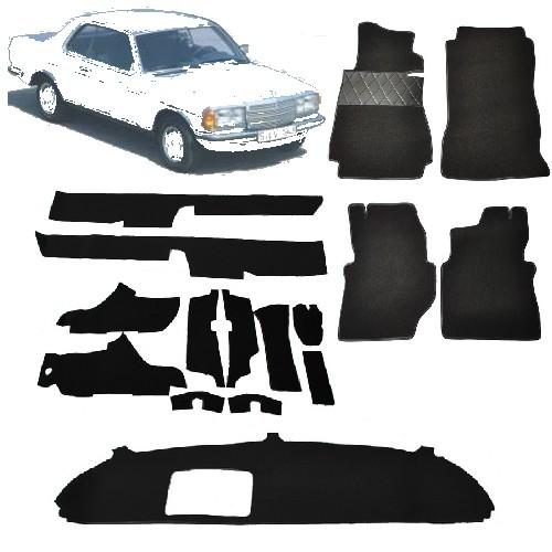 mercedes w123 coupe 230c 230ce neuer auto teppich schlinge. Black Bedroom Furniture Sets. Home Design Ideas