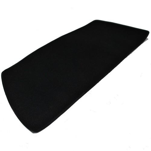 Opel Manta A Teppich für Heckablage Schlinge schwarz mit Kunstlederkettelung