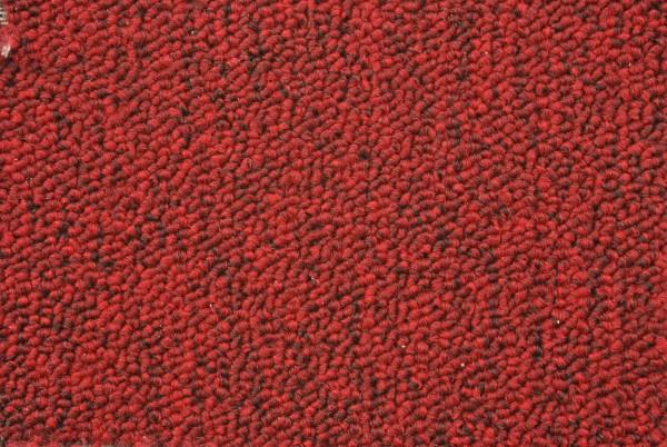 Autoteppich Meterware Schlinge Rot Geweberücken