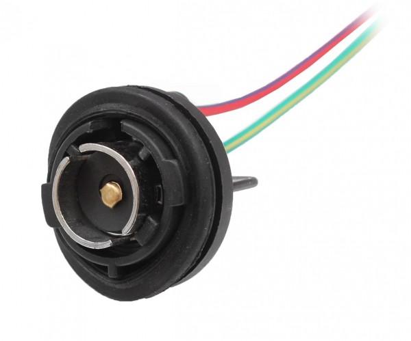 2x Lampenfassung Sockel BA-15S Fassung BA15S Schiff Boot Lampe Positionslampe